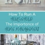 The Importance of Household Management