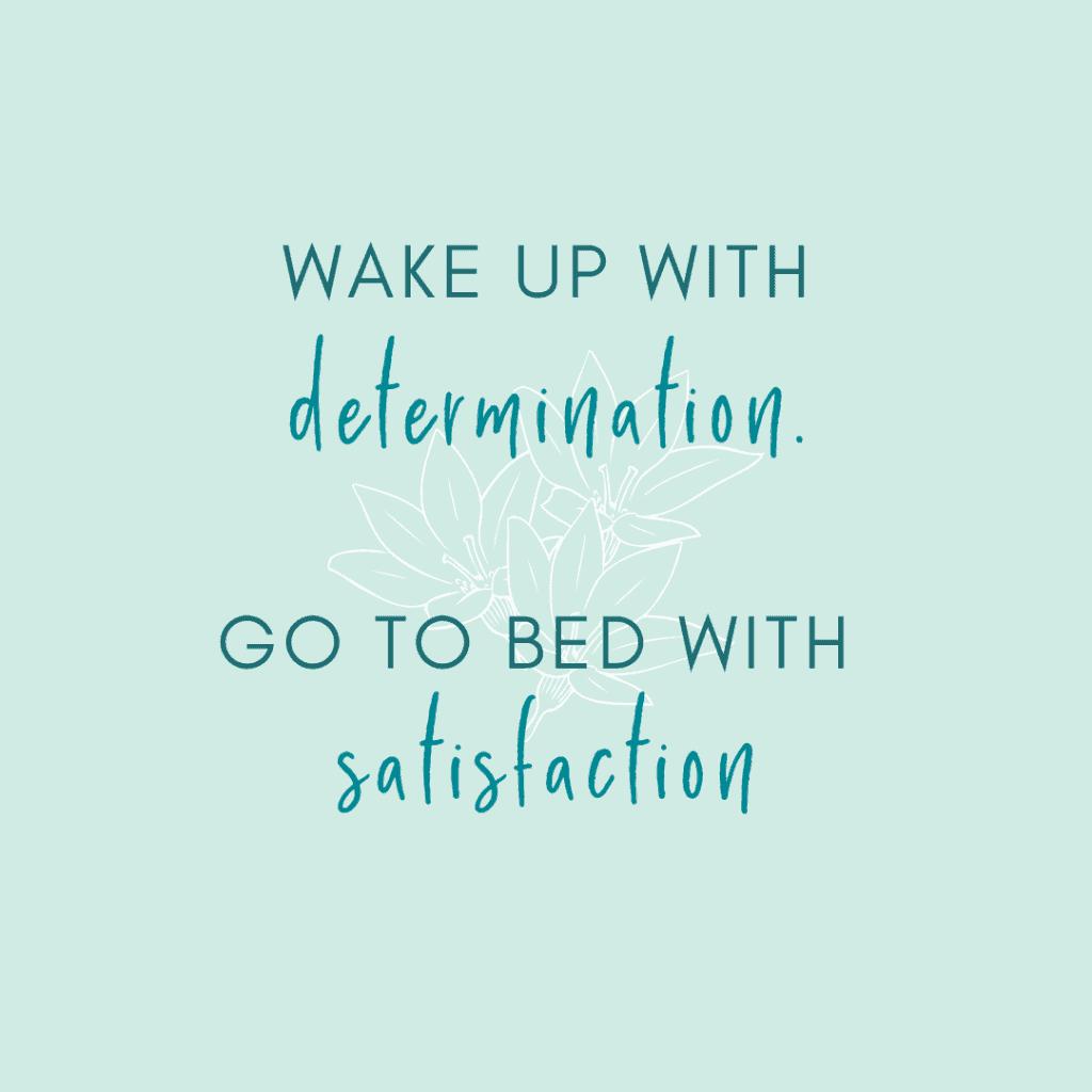 Morning ritual mantra