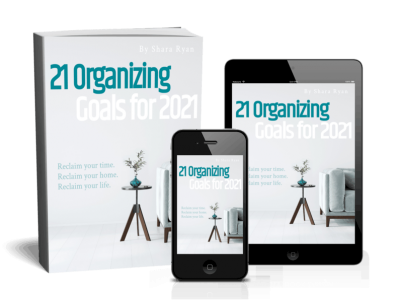 cover for 21 organizing goals
